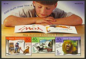 New Zealand B165 MNH Animals, Children's Books, Lion, Dog, Cat