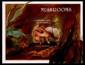 Dominica 1666 MNH Mushrooms