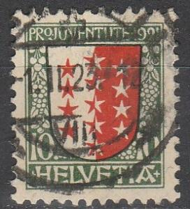 Switzerland #B18 F-VF Used CV $3.00 (S383)