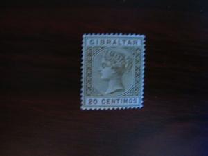 Gibraltar #31 Mint Hinged- (JB6) WDWPhilatelic