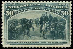 momen: US Stamps #240 Mint OG NH VF App.