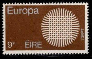 Ireland Scott 280 MNH** Europa stamp 1970 Threads issue