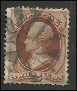 # 146 Red Brown Used Andrew Jackson