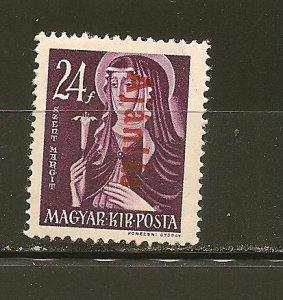 Hungary F3 Registration  Mint Hinged