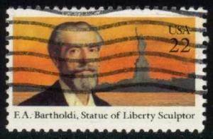 US #2147 Frederic Bartholdi; used (0.25)