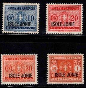 Ionian Islands Scott NJ1-42 MH* 1941 postage due set