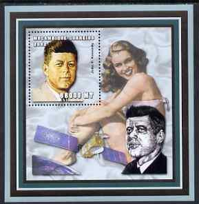 Mozambique MNH S/S John F. Kennedy 2002