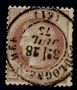 Important France #51 Used F-VF SCV$15...From a great auction!