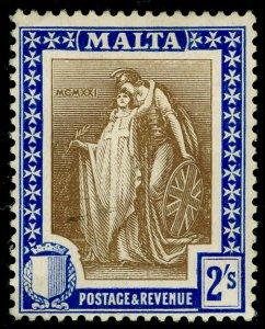 MALTA SG135, 2s brwn & blue, M MINT. Cat £14.
