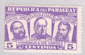 Paraguay 481 MLH Three National Heros (BP17115)