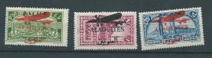 Alaquites C17-9 1929 Airmail set MH
