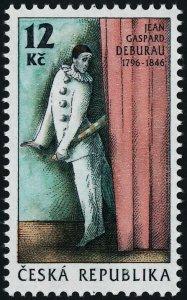 Czech Republic 2986 MNH Jean Gaspart Deburau, Mime