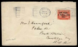 Canada / Newfoundland Scott C3a Variety 1 Gibbons 148f on Cover