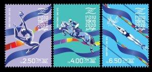 2021 Israel 3v 2020 Olympic Games in Tokio