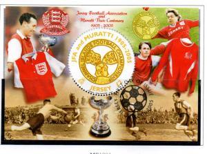 Jersey Sc 1162 2005 Soccer Muratti Vase stamp sheet Used
