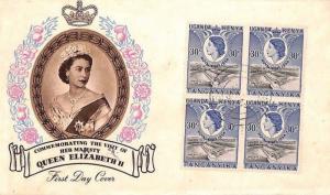 BN228 1954 British KUT Kenya Nairobi Airmail Cover PTS