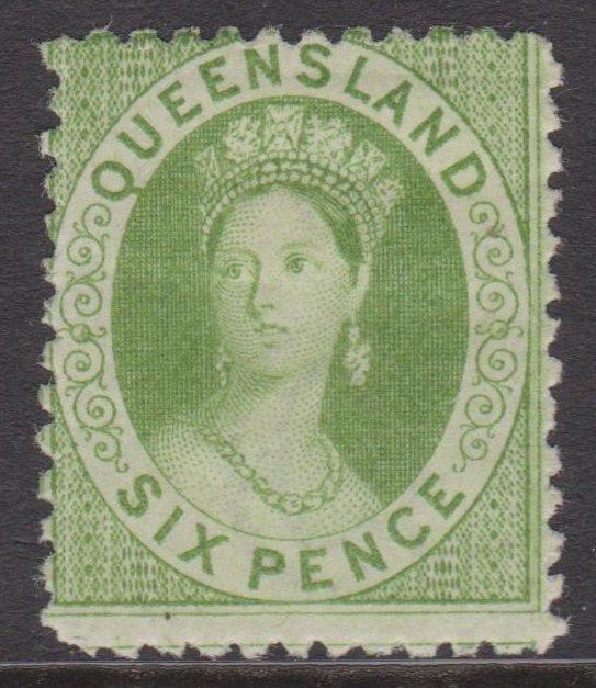Queensland Sc#48 MH SG#106
