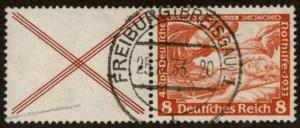 Germany 1933 Wagner Opera Music Mi W51Se-tenant Zusammendruck 63470
