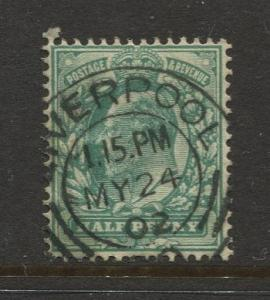 STAMP STATION PERTH:Great Britain - #127 KEVII Definitive 1902 FU CV$?