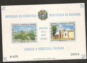 Venezuela C1007a 1969 Tourism s.s. NH