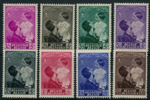 Belgium #B189-96* NH CV $45.00 semi-postal complete set