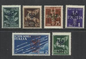 LUBIANA 1944 OCCUPAZIONE TEDESCA GERMAN OCCUPATION BENEFICENZA INVERNALE WINT...