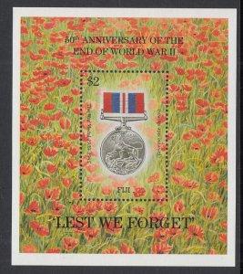 Fiji 724 Souvenir Sheet MNH VF