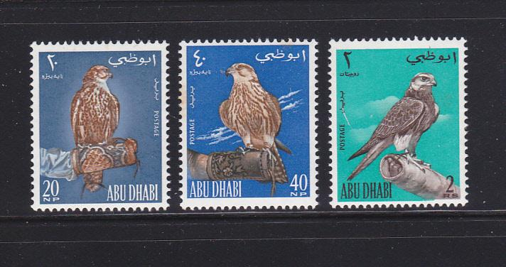 Abu Dhabi 12-14 Set MNH Birds (B)