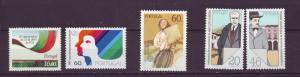 J8126 JLs stamps 1984-5 portugal mnh 3 sets1,1 set2 $7.50v