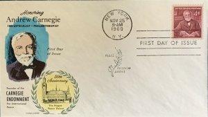 FLUEGEL 1171 Andrew Carnegie The Hague Peace Palace