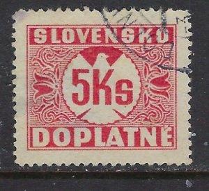 Slovakia J22 Used 1941 issue (ap6707)