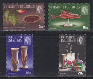 Pitcairn Islands # 91-94, Handicrafts, NH, 1/2 Cat.