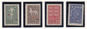 Finland B54-57 mint
