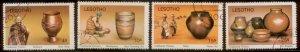 Lesotho 1980 SC# 297-300 CTO L156