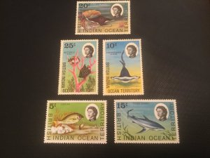 ICOLLECTZONE British Indian Ocean Territory 16-20 VF NH