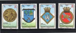 VIRGIN ISLANDS #266-269  1974 INTERPEX STAMP EXIBITION        MINT VF NH O.G
