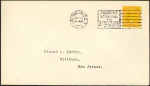 562, FIRST DAY COVER ED WORDEN VF Cat $190.00