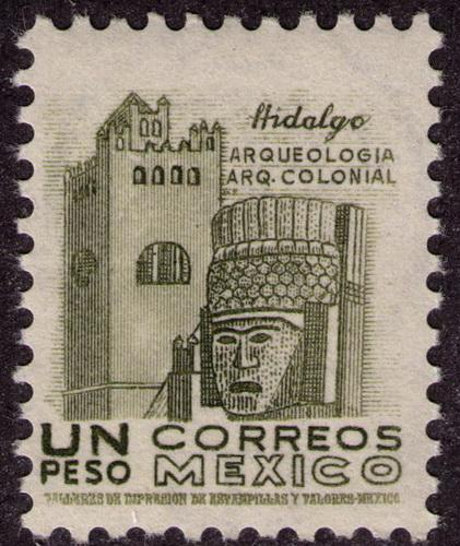 Mexico #  882  Mint  VF  NH perf 14  Cat $ 12