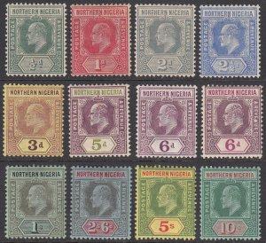 Northern Nigeria 28-38, SG28-39 MH / MVLH / MNH? (see Details) CV $154.00