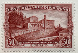 AlexStamps SAN MARINO #111 XF Mint