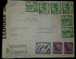 O) 1939 PARAGUAY, PEACE CONFERENCE-BUENOS AIRES-PRESIDENT BENAVIDES, DR JOSE FRA