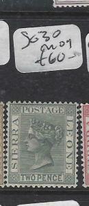 SIERRA LEONE  (P3005B)  QV 2 D  SG  30   MOG