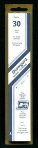 Showgard BLACK Strip Mounts Size 30 = 30 mm Fresh New Stock Unopened