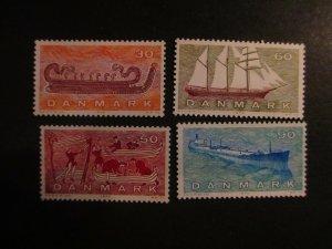 Denmark #472-75 Mint Never Hinged- (5E4) WDWPhilatelic