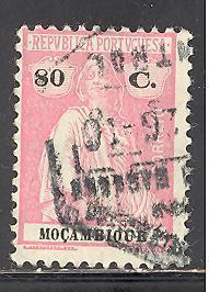 Mozambique Sc # 191R used perf 12 X 11 1/2 (RS*)
