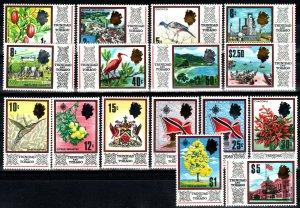 Trinidad And Tobago #144-59  MNH CV $15.90 (X1384)