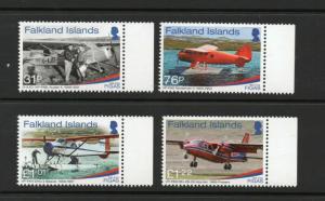 FALKLAND ISLANDS FIGA 2018 Aircraft issue MNH