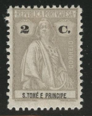 St. Thomas & Prince Islands  Scott 200 MH* from 1914-26 Ceres set