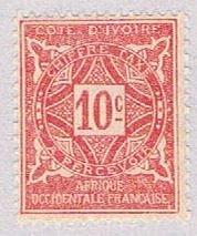 Ivory Coast J10 MNH Numeral 10 1914 (BP38104)