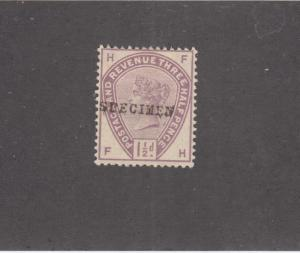 GB SG 188s VF-MNG 1.5d SPECIMEN O/PRINT CAT VALUE £75